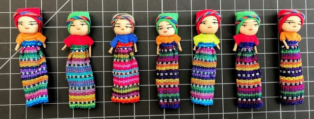 3 Inch Girl Worry Doll corporate giveaways