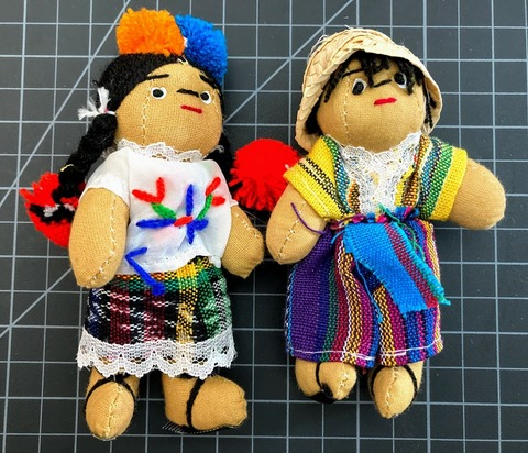 5 Inch Worry Doll
