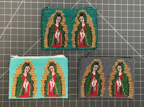 Beaded Coin Purse - Virgin Guadelupe