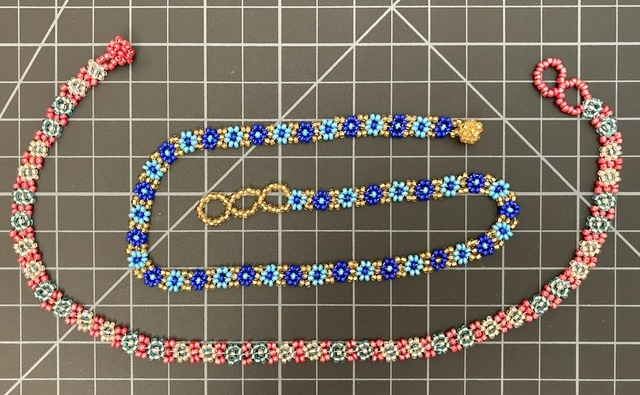 Beaded Daisy Chain Necklace