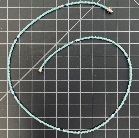 Beaded Single Strand Necklace