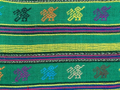 Comalapa Cloth- Yards Or Rolls Of Fabric-Green