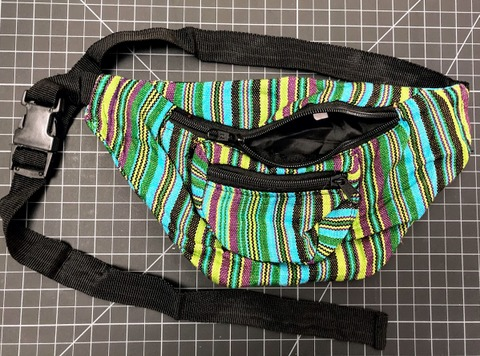 Cotton Fanny Pack - Multicolor