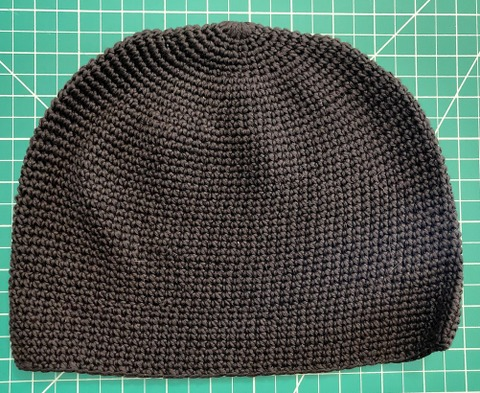 Cotton Skull Cap / Kufi Hat regular black