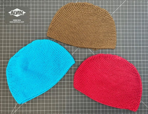 Cotton Skull Cap / Kufi Hat regular solid colors