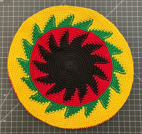 Cotton Tam Hat - Regular rasta