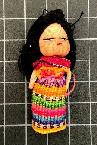 Dancer Worry Doll