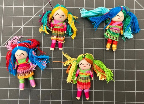 Free Spirit Worry Doll