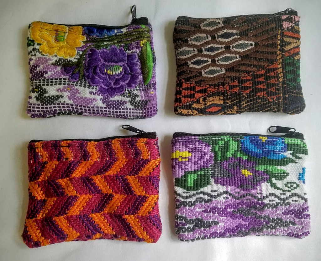Huipil Coin Purse - Small huipil products