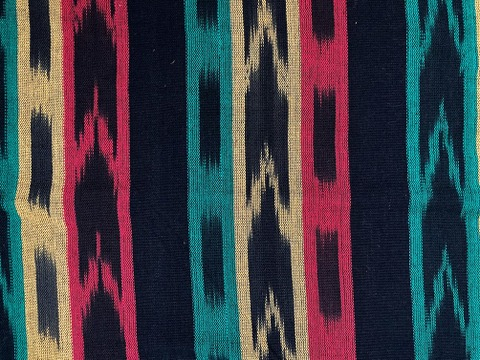 Jaspe Cloth (Ikat) Rasta Reggae Colors