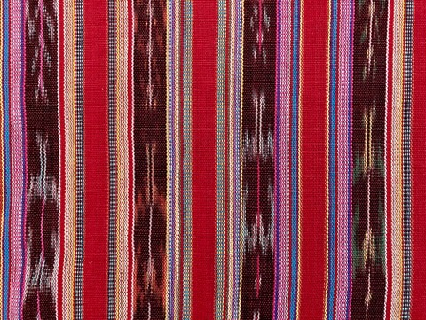 Jaspe Cloth (Ikat) Red
