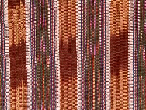Jaspe Cloth (Ikat) tan multicolor