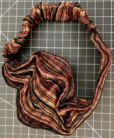 Large Scarf Hairband - earth Rasta / Reggae