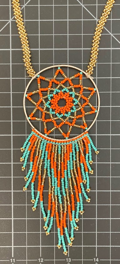 Native American Style Dream Catcher Necklace Native American style