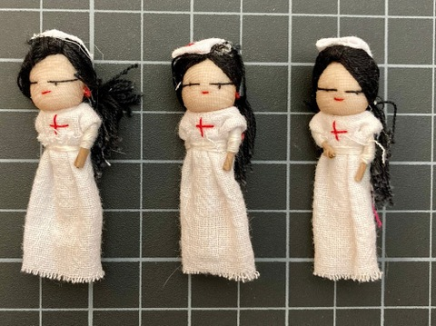 Nurse Worry Doll
