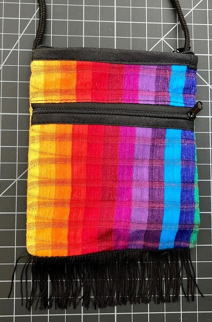 Rainbow Fringe Purse Rainbow