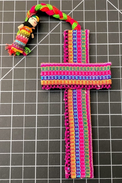 Worry Doll Cross Bookmark