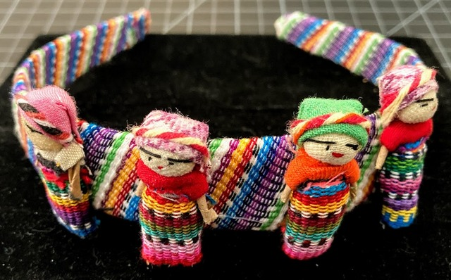 Worry Doll Hairband - Large Dolls