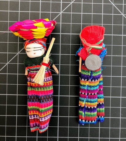 Worry Doll 4 inch with magnet