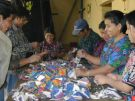 Guatemalans Sorting Items