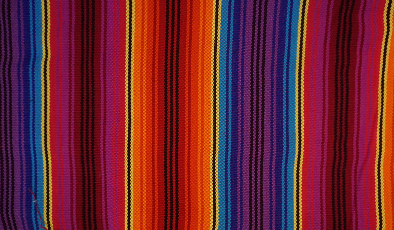 Thick Jaspe cloth (ikat) multicolor bold