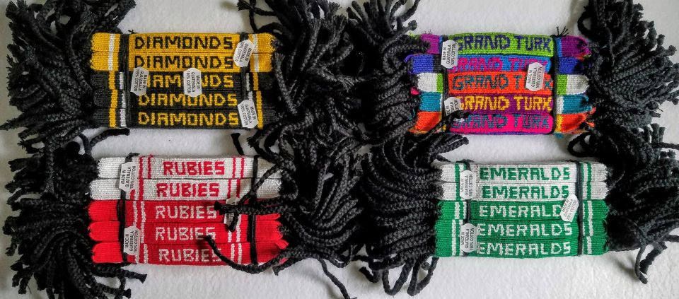 Cotton Friendship Bracelet With Woven Custom Letters custom manufacturing