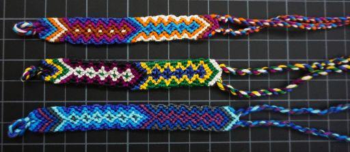 Cotton Arrow Friendship Bracelet Fb134