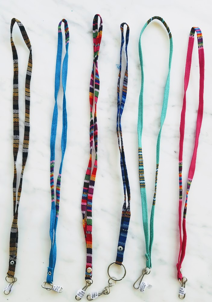 Cotton Multicolor Lanyard