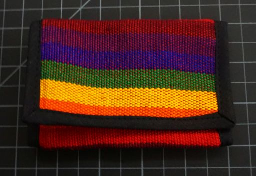 Rainbow Trifold Wallet Rainbow