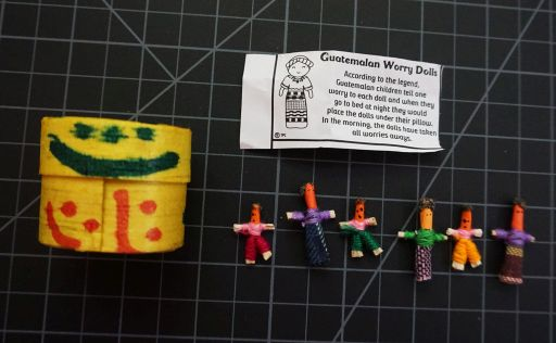 Worry Dolls Box Of Six
