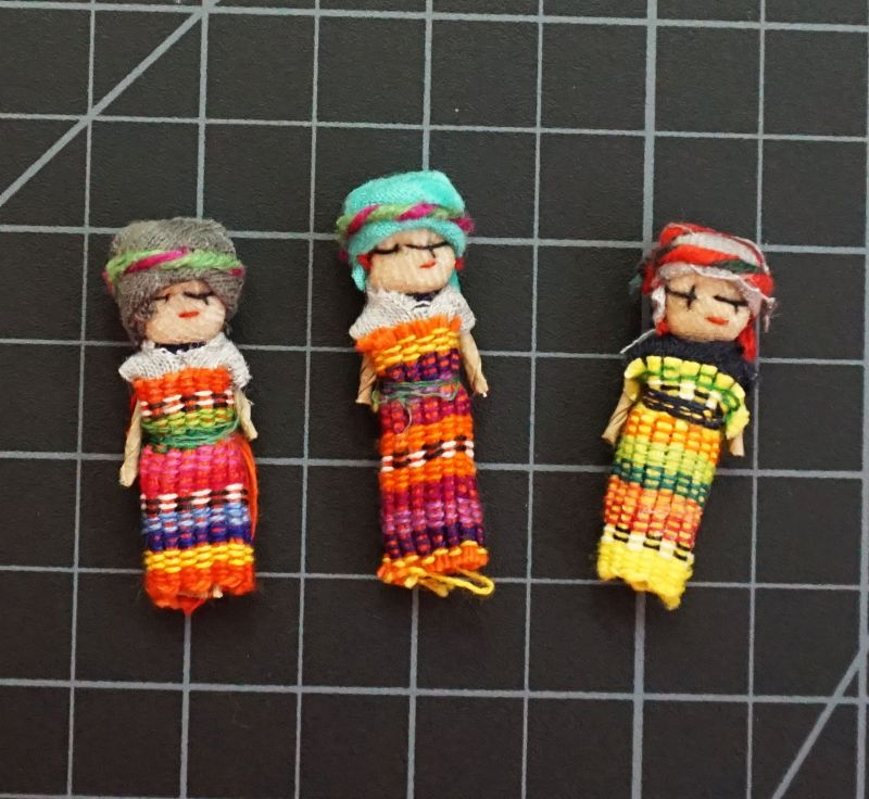Worry Dolls - One Dozen 2 Inch Girls corporate giveaways