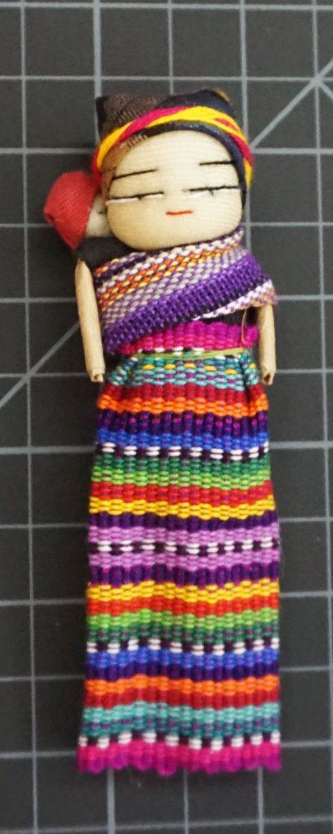 One Dozen Bags Worry Dolls in a Bag