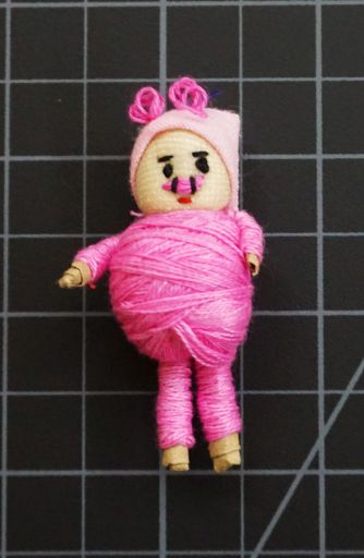 2 Inch Pig Worry Doll
